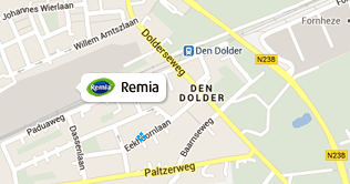 Route naar Remia